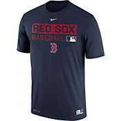 Nike Men's Boston Red Sox Dri-FIT Authentic Collection Navy Legend T-Shirt