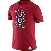 Nike Men's Boston Red Sox Dri-FIT Authentic Collection Red T-Shirt