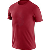 Nike Men's Boston Red Sox Seasonal Logo Red T-Shirt