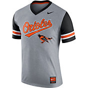 Nike Men's Baltimore Orioles Dri-FIT Cooperstown Grey Gym Issue T-Shirt