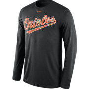 Nike Men's Baltimore Orioles Dri-FIT Black Legend Long Sleeve Shirt