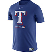 Nike Men's Texas Rangers Dri-FIT Authentic Collection Royal T-Shirt