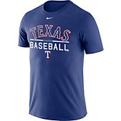 Nike Men's Texas Rangers Practice Royal T-Shirt