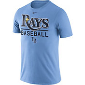 Nike Men's Tampa Bay Rays Practice Light Blue T-Shirt