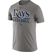 Nike Men's Tampa Bay Rays Practice Grey T-Shirt