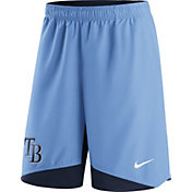 Nike Men's Tampa Bay Rays Dri-FIT Authentic Collection Light Blue Performance Shorts
