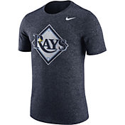 Nike Men's Tampa Bay Rays Marled Navy T-Shirt