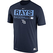 Nike Men's Tampa Bay Rays Dri-FIT Authentic Collection Navy Legend T-Shirt