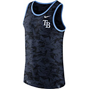Nike Men's Tampa Bay Rays Dri-Blend Premium Navy Tank Top