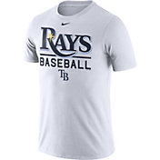 Nike Men's Tampa Bay Rays Practice White T-Shirt