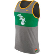 Nike Men's Oakland Athletics Cooperstown Grey Tank Top