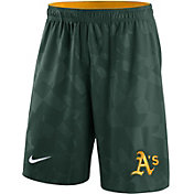 Nike Men's Oakland Athletics Dri-FIT Green Knit Shorts