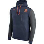 Nike Men's Detroit Tigers Dri-FIT Navy AV Pullover Hoodie