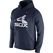 Nike Men's Chicago White Sox Club Navy Pullover Hoodie