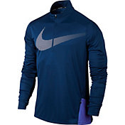 Nike Men's Dry City Core Long Sleeve Half Zip Running Shirt