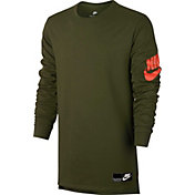 Nike Men's Sportswear Heavyweight Futura Long Sleeve Graphic Shirt