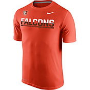 Nike Men's Bowling Green Falcons Orange Legend Staff Sideline T-Shirt