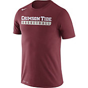 Nike Men's Alabama Crimson Tide Crimson Basketball Practice Legend T-Shirt