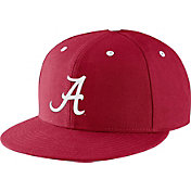 Nike Men's Alabama Crimson Tide Crimson True Fitted On-Field Baseball Hat