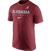 Nike Men's Alabama Crimson Tide Crimson Football Practice T-Shirt