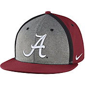 Nike Men's Alabama Crimson Tide Crimson/Grey Sideline True Adjustable Performance Hat