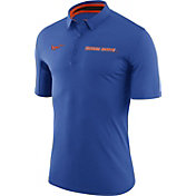 Nike Men's Boise State Broncos Blue Basketball Polo