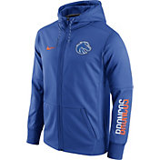 Nike Men's Boise State Broncos Blue Circuit Full-Zip Hoodie