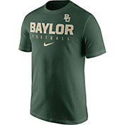 Nike Men's Baylor Bears Green Football Practice T-Shirt