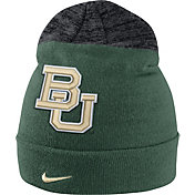 Nike Men's Baylor Bears Green/Grey Sideline Beanie