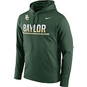 Nike Men's Baylor Bears Green Circuit PO Hoodie