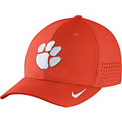 Nike Men's Clemson Tigers Orange Vapor Sideline Swoosh Flex Hat