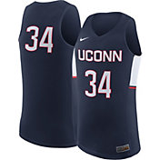 Nike Men's UConn Huskies #34 Blue Replica ELITE Basketball Jersey