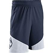 Nike Men's UConn Huskies Blue/White New Classics ELITE Basketball Shorts