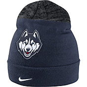 Nike Men's UConn Huskies Blue/Grey Sideline Beanie