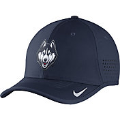 Nike Men's UConn Huskies Blue Vapor Sideline Coaches Hat
