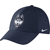Nike Men's UConn Huskies Blue Dri-FIT Wool Swoosh Flex Hat