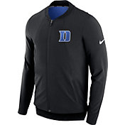 Nike Men's Duke Blue Devils Showtime Dry Basketball Black Jacket