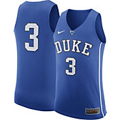Nike Men's Duke Blue Devils #3 Duke Blue Authentic ELITE Basketball Jersey