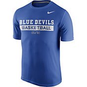 Nike Men's Duke Blue Devils Duke Blue ELITE Basketball Practice T-Shirt