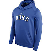 Nike Men's Duke Blue Devils Duke Blue Circuit Basketball Hoodie