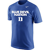 Nike Men's Duke Blue Devils Duke Blue 'Blue Devil Nation' Basketball T-Shirt