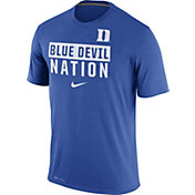 Nike Men's Duke Blue Devils Duke Blue 'Blue Devil Nation' Legend Local Verbiage T-Shirt