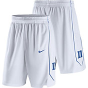 Nike Men's Duke Blue Devils Replica Basketball White Shorts