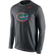 Nike Men's Florida Gators Anthracite Logo Long Sleeve Shirt