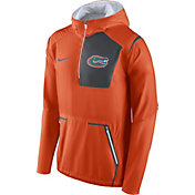 Nike Men's Florida Gators Orange Vapor Speed Fly Rush Sideline Jacket