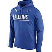 Nike Men's Air Force Falcons Blue Circuit PO Hoodie
