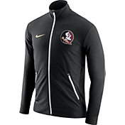 Nike Men's Florida State Seminoles Elite Players Black Dri-FIT Touch Full-Zip Jacket