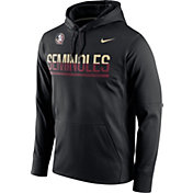 Nike Men's Florida State Seminoles Black Circuit PO Hoodie