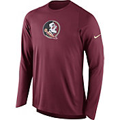 Nike Men's Florida State Seminoles Garnet ELITE Shooter Long Sleeve Shirt