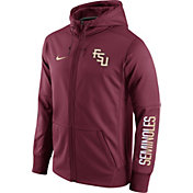 Nike Men's Florida State Seminoles Garnet Circuit Full-Zip Hoodie